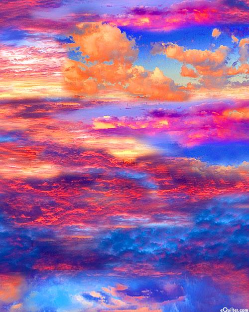 Southwest - Painted Skies - Magenta/Multi