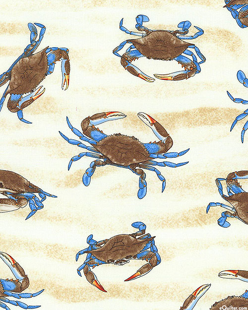 Crabs on the Sand - Ivory