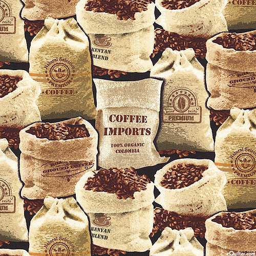 Fresh Brew - Imported Coffee Beans - Black