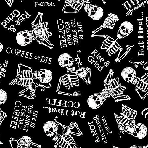 Back To The Grind - Coffee or DIE - Black