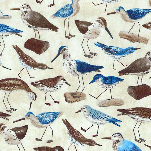Welcome to the Beach - Wooden Sandpipers - Warm Sand
