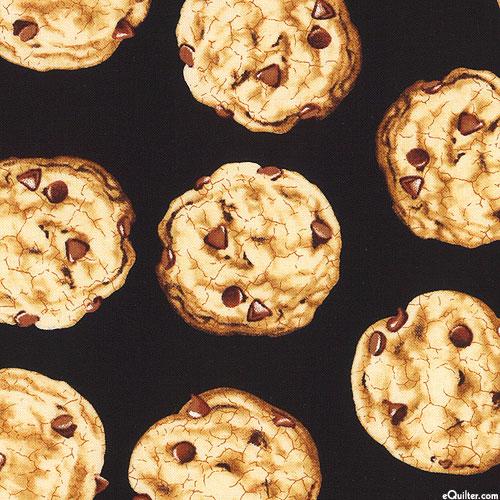 Sweet Tooth - Warm Chocolate Chip Cookies - Black
