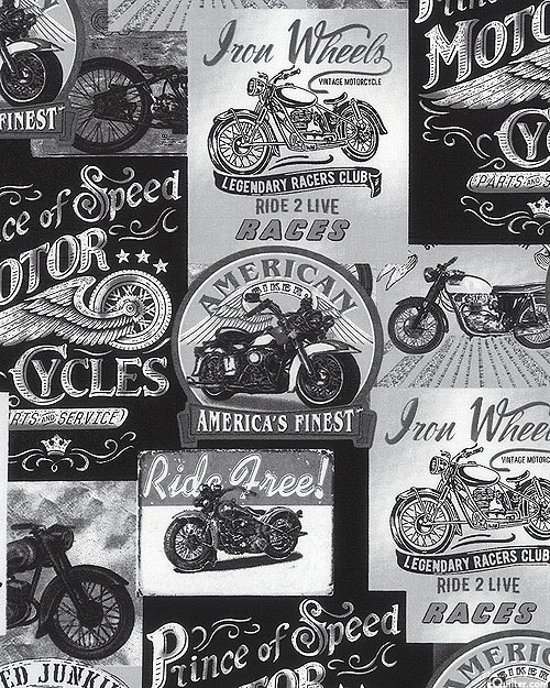 America's Finest Motorcycles - Chrome Gray