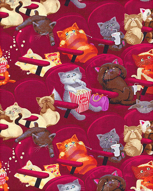 Movie Cats - Crimson