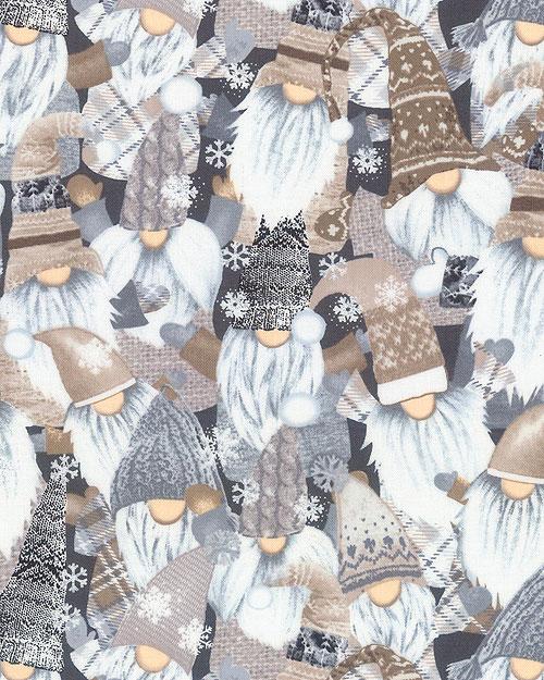 Snow Gnomes - Blizzard Party - Graphite Gray