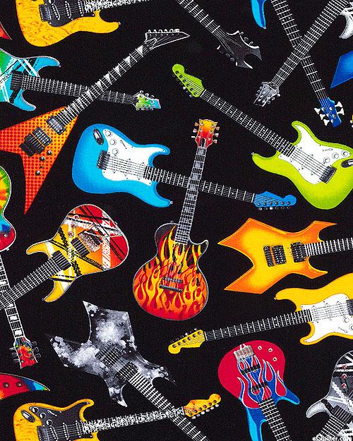 Guitars That Rock - Black