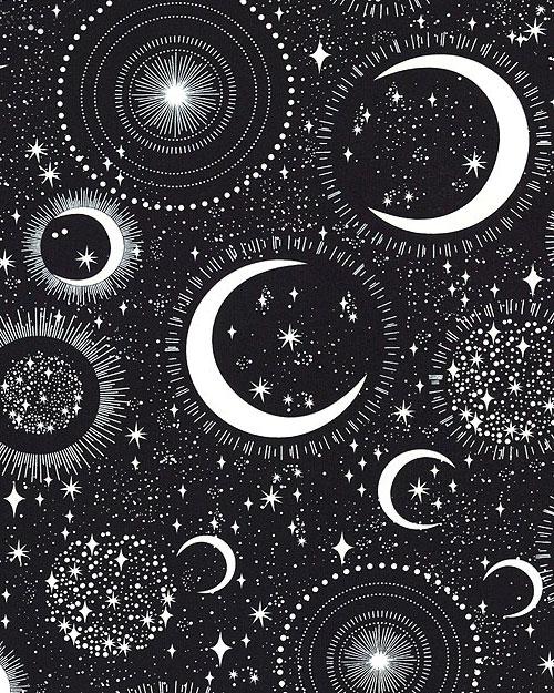 Science & Space - Celestial Beauty - Black/Glow