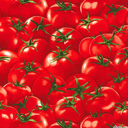Farmers Market - Tomatoes Galore - Rich Red