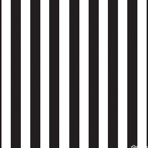 Quilters Trek: Pop Of Color - Pinstripes - White