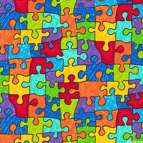 Autism Awareness - Puzzle Piece Party - Multi