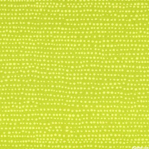 Moonscape - Space Specks - Chartreuse Green