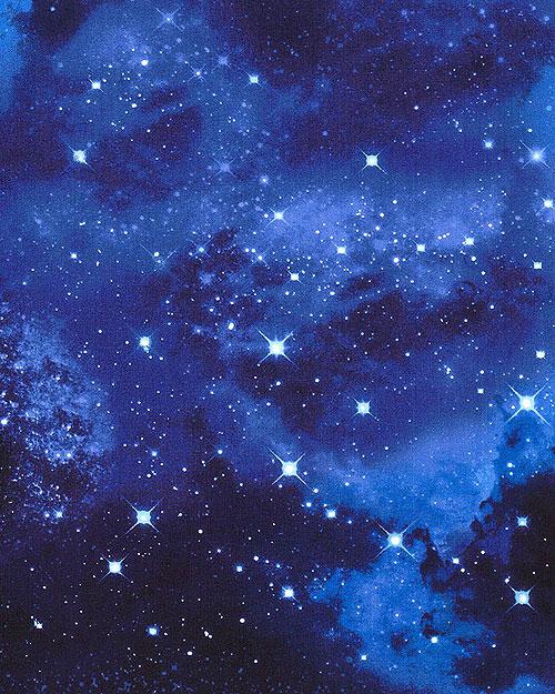 Shimmering Galaxy - Cobalt Blue