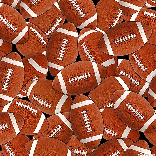 Football - Game Balls - Black