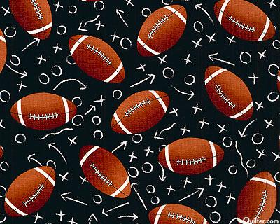 Football Plays - Black
