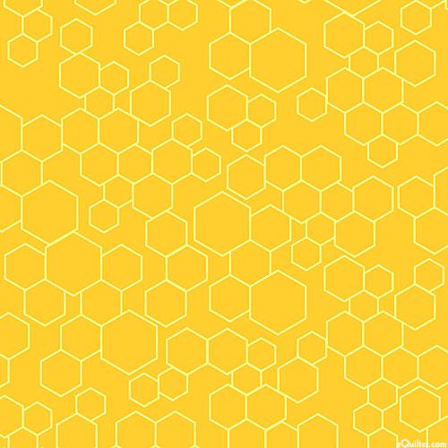Save the Bees - Honeycomb Hexagon Play - Daisy Yellow