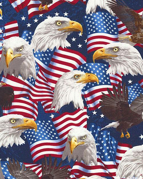 American Pride - American Eagle Majesty - Navy Blue