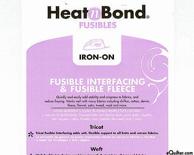 Heat n Bond Light Weight Iron-on Fusible Interfacing - White