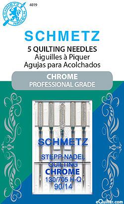 Schmetz Chrome Quilting Machine Needles - Size 90/14