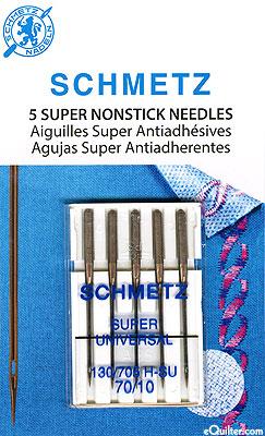 Schmetz Super Nonstick Universal Machine Needles - Size 70/10