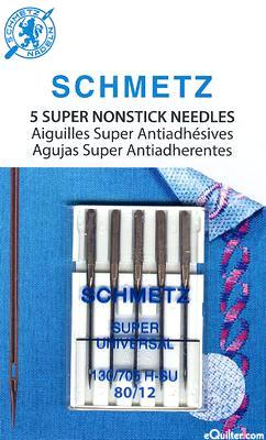 Schmetz Super Nonstick Machine Needles - Size 80/12