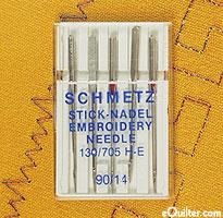 Schmetz Embroidery Machine Needles - Size 90/14