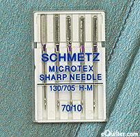 Schmetz Microtex Sharp Machine Needles - Size 70/10