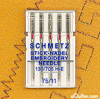 Schmetz Embroidery Machine Needles - Size 75/11
