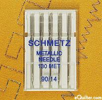 Schmetz METALLIC Sewing Machine Needles - 90/14
