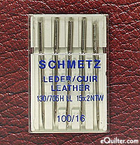 Schmetz Leather Sewing Machine Needles - size 100/16