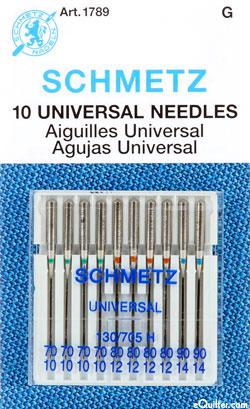 Schmetz Universal Machine Needles - Assorted Pack - 3 Sizes