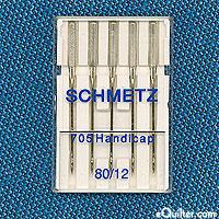 Schmetz Quick Threading Machine Needles - Size 80/12