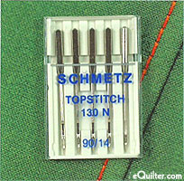 Schmetz Topstitch Sewing Machine Needles - size 90/14