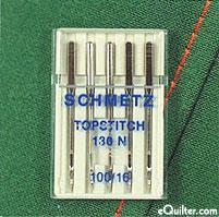 Schmetz Topstitch Sewing Machine Needles  - size 100/16