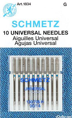 Schmetz Universal Machine Needles - Size 90/14 - 10 Pack