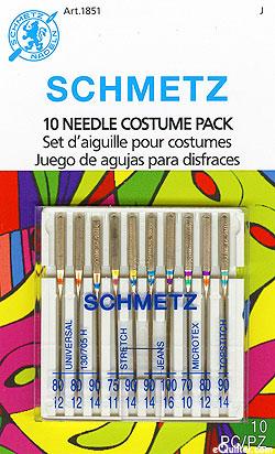 Schmetz Machine Needles - Costume Pack