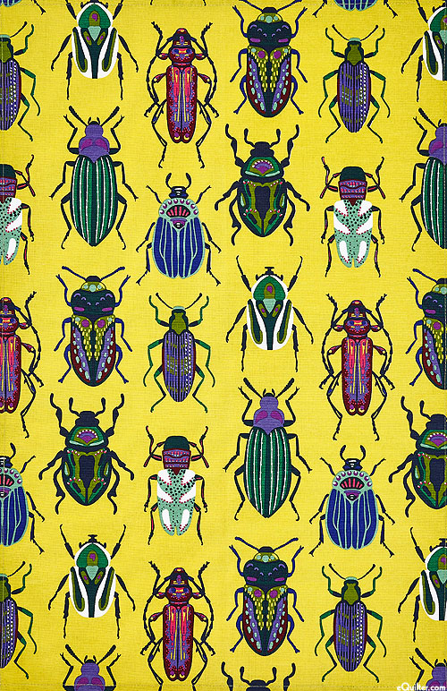 Beetles - Tea Towel
