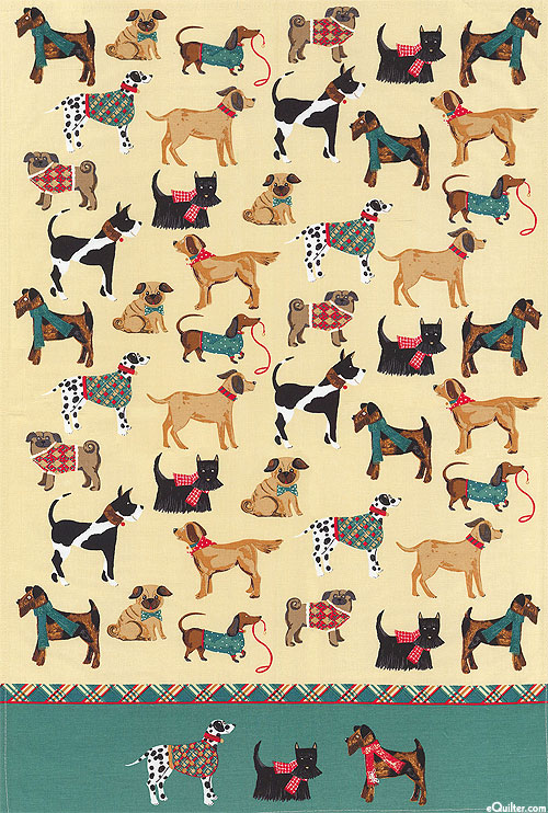Hound Dog - Tea Towel