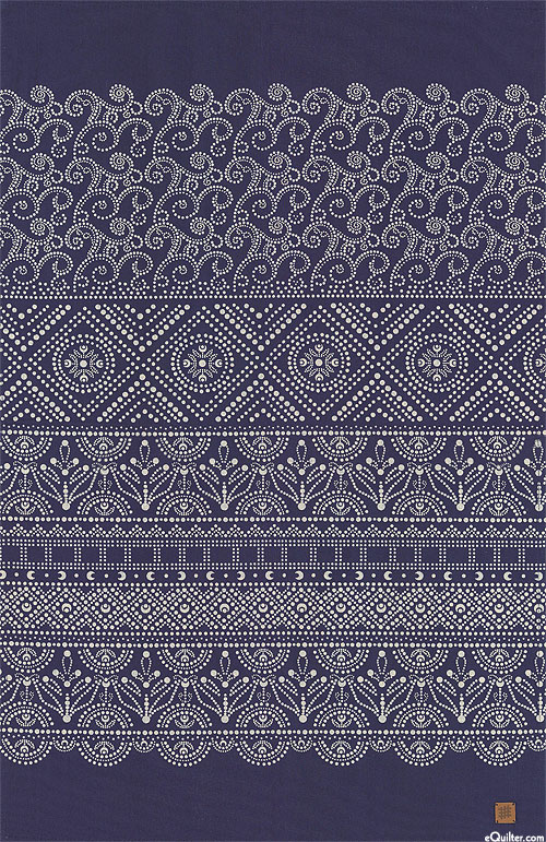 Indigo Artwork - Tea Towel