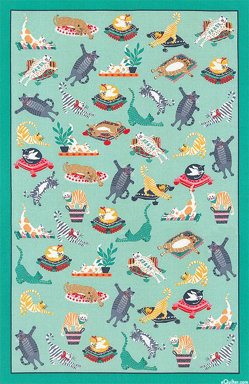 Kitty Cats - Tea Towel