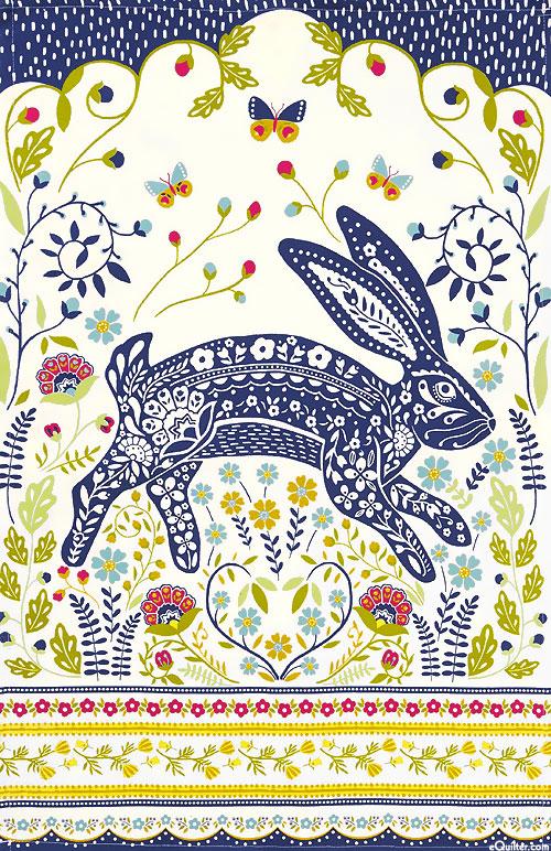 Woodland Hare - Tea Towel