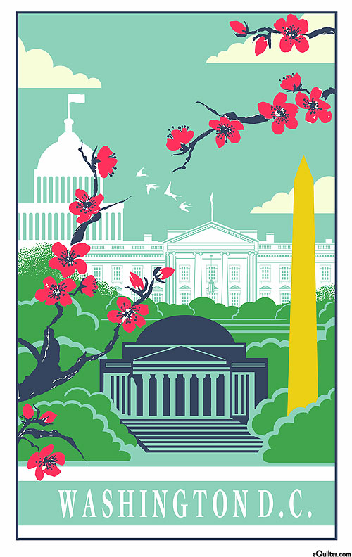 Washington DC - Tea Towel