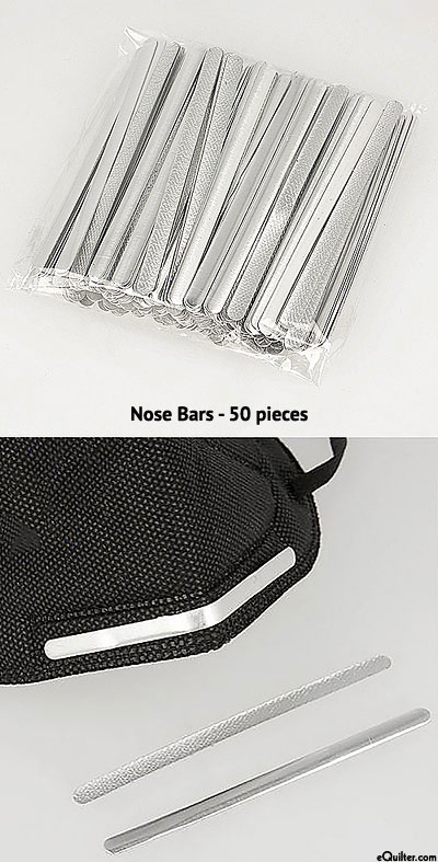 Face Mask Nose Bars - Pack of 50