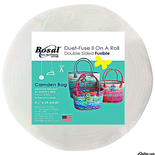 "Duet-Fuse II On a Roll - Double-Sided Fusible - 2 1/4"" x 25 Yds"