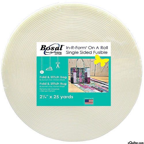 "In-R-Form On A Roll - Single-Sided Fusible - 2-1/4"" x 25 Yards"