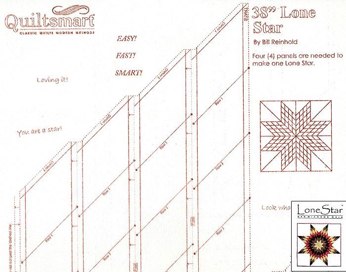 Fusible Interfacing Panel - Lone Star 4 x 4
