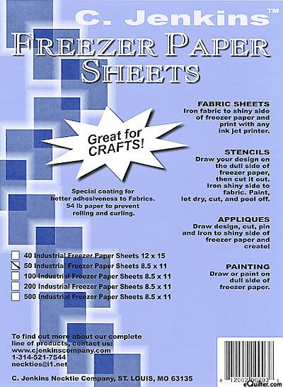 C. Jenkins Freezer Paper Sheets - 50 Pack