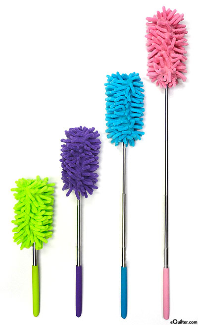 Fuzzy Stick - Extendable Microfiber Duster