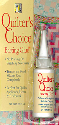 Quilter's Choice Basting Glue - 2 Oz Bottle