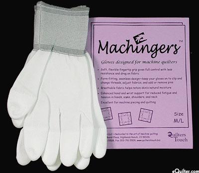 Machingers - Machine Quilting Gloves - Med/Lg