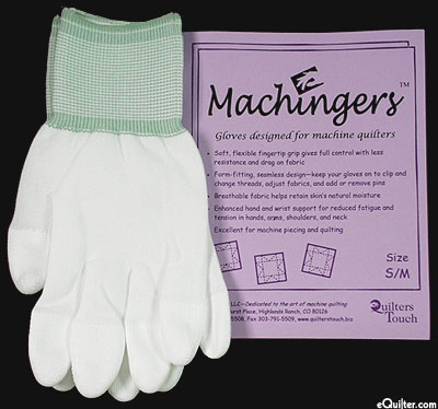 Machingers - Machine Quilting Gloves - Small/Med